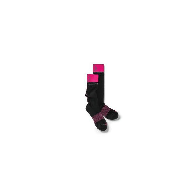 Moving Comfort - Urban Gym Sock - Women's - Black/Powderpink