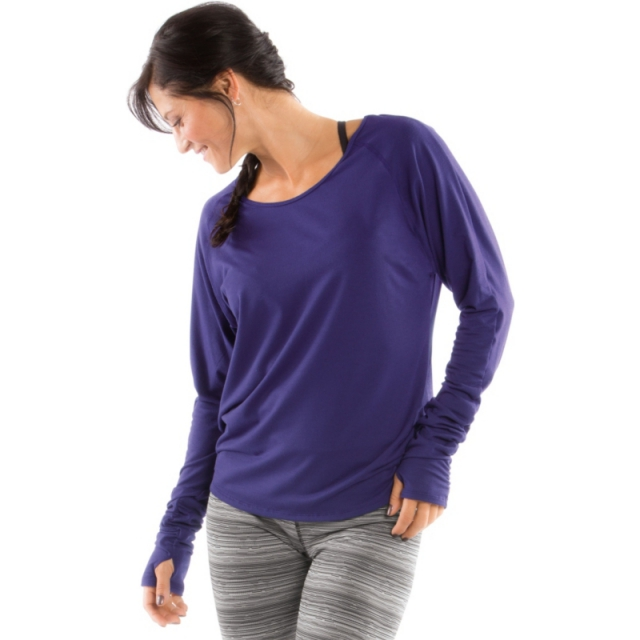 Moving Comfort - Womens Twist Open Back - Closeout Gem X Small