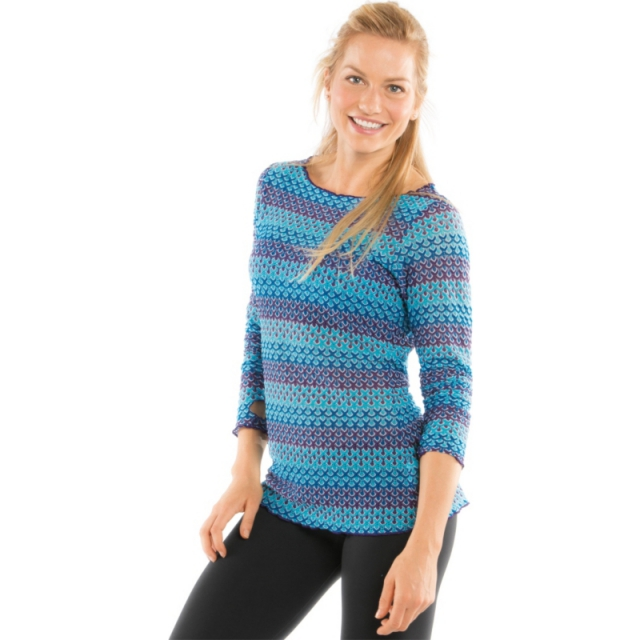 Moving Comfort - Womens Vibe Long Sleeve - Closeout Gem Small