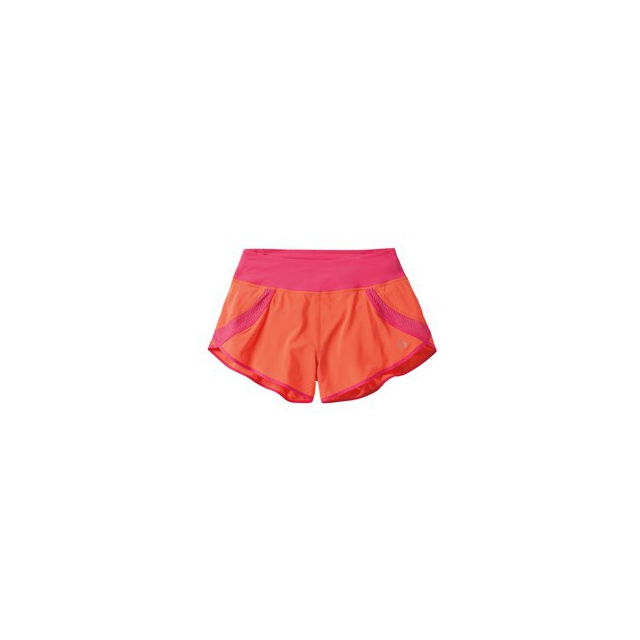 "Moving Comfort - Momentum 3"" Run Short - Women's - Flame/Pixie In Size: Large"