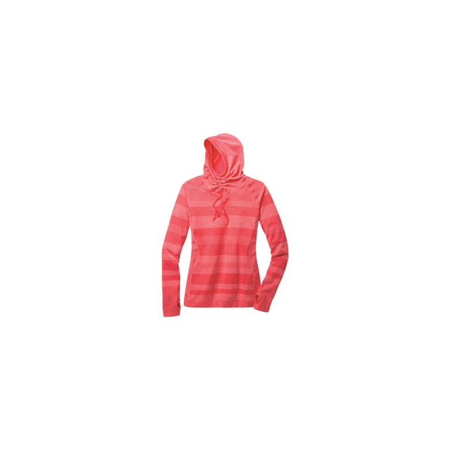 Moving Comfort - Fusion Hoodie - Women's - Punch Heather In Size