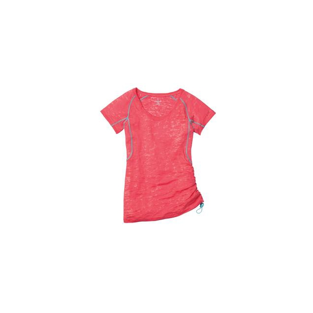 Moving Comfort - Flow Burnout Tee Women's, Fiesta, S