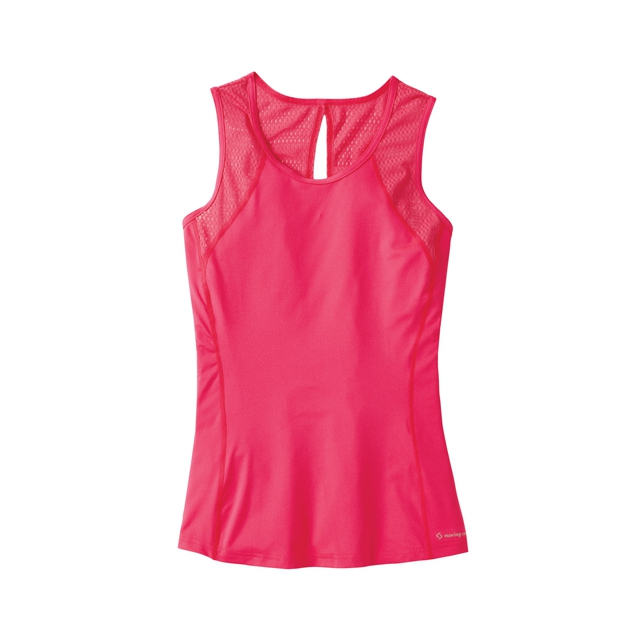 Moving Comfort - Dash Sleeveless Top - Women's: Stardust, Small