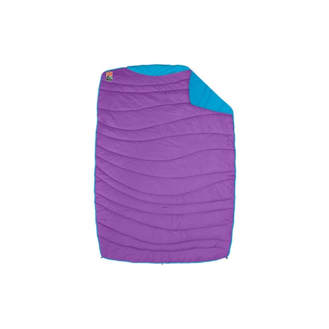 Nemo - - Puffin Blanket - Purple Lt Blue