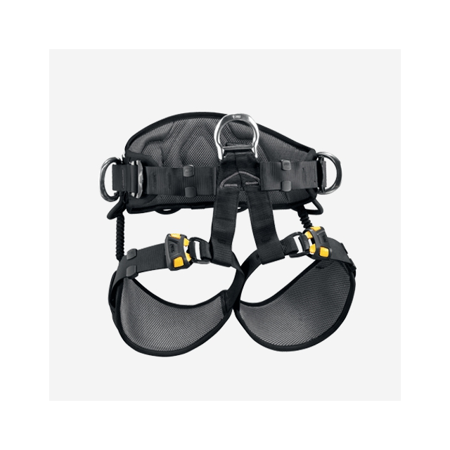Petzl - - Avao Sit Fast Harness - 0 - Yellow / Black