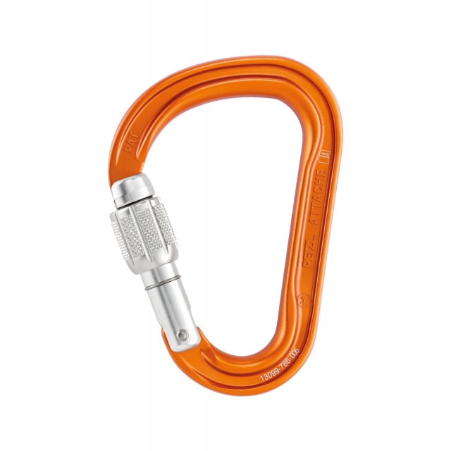 Petzl - ATTACHE SCREW-LOCK carabiner