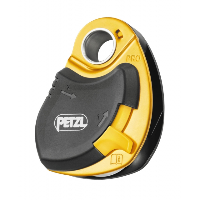 Petzl - PRO pulley w/ swing side plate