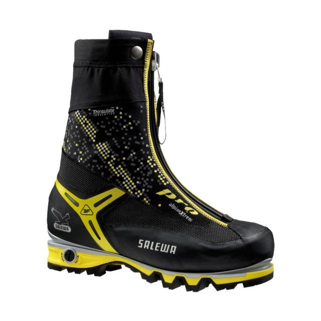 Salewa - - PRO Gaiter Performance Fit - 12 - Black/Yellow