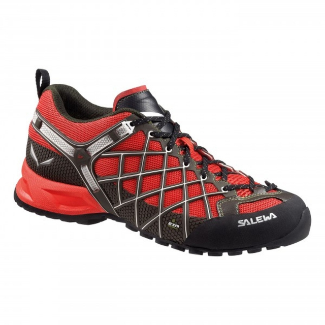 Salewa - - Wildfire Vent Mens - 11.5 - Flame/Basilico