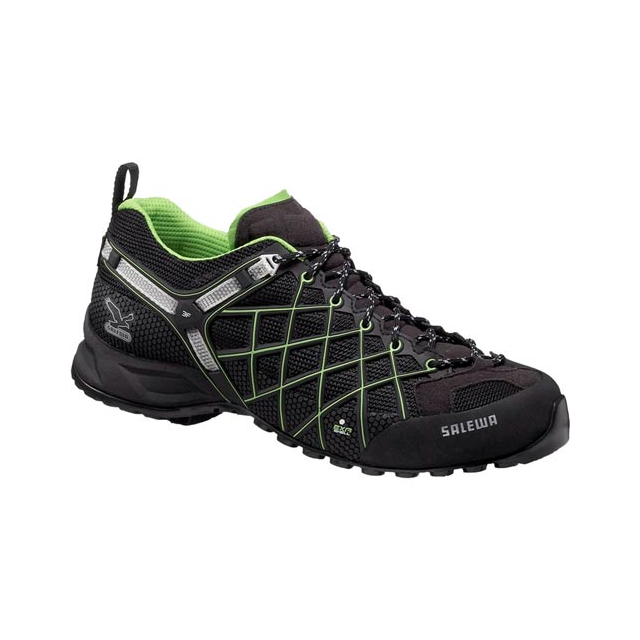 Salewa - Men's Wildfire GTX, Black/Emerald, 7