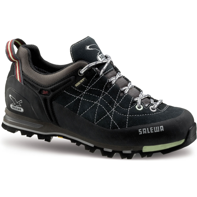 Salewa - Mountain Trainer GTX Shoe Womens - Carbon/Mint 7.5
