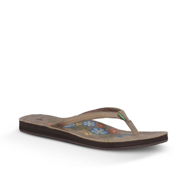 Sanuk - - Flora the Explora - 10 - Brown