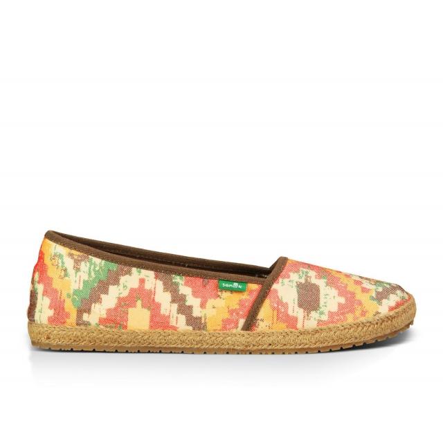 Sanuk - - MYA Wmns Shoe - 10 - Orange/Multi