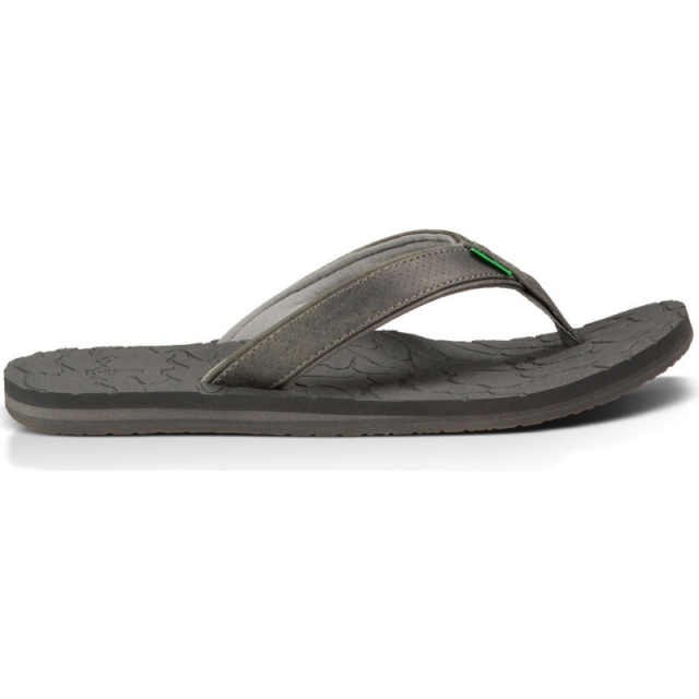 Sanuk - Mens High Tide Charcoal 10