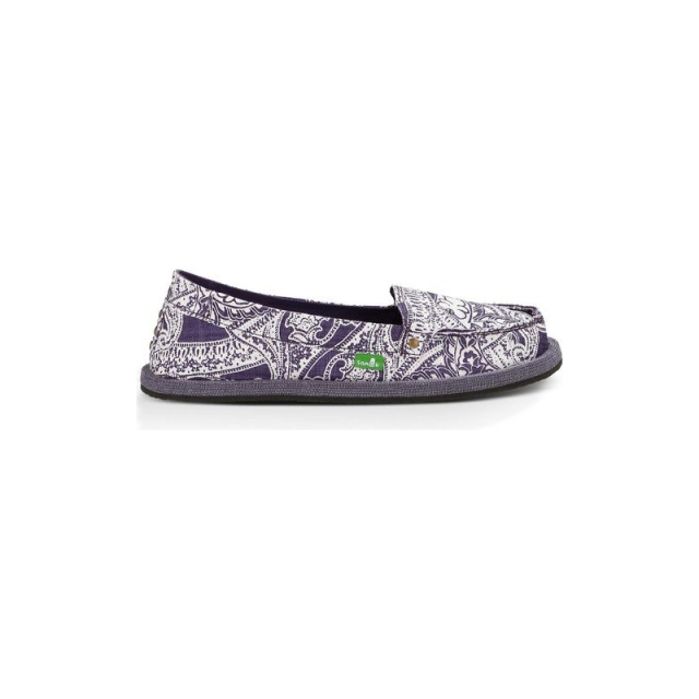 Sanuk - Womens Shorty Wrapped - Sale Purple 6