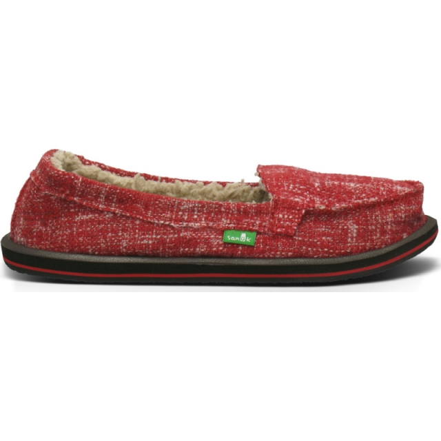 Sanuk - Womens Shorty Chill - Closeout Red 6