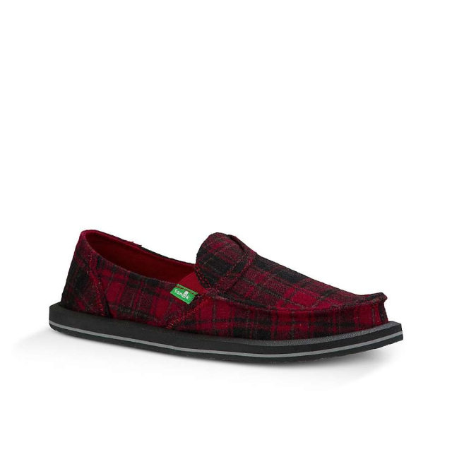 Sanuk - Women's Pick Pocket Plaid Shoe