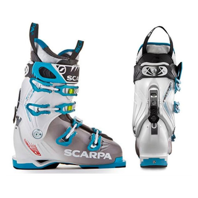 Scarpa - Freedom Women White/Turquoise