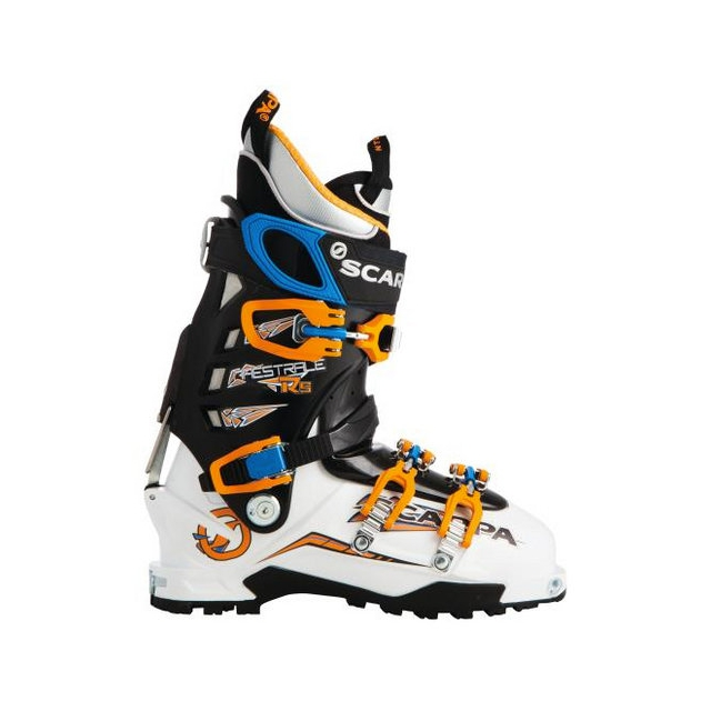 Scarpa - Maestrale RS AT Boot White/Black/Yellow