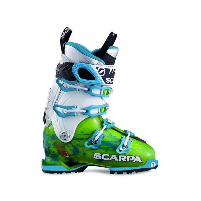 Scarpa - Freedom SL Women's AT Boot Lime/Turquoise