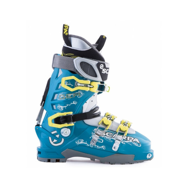 Scarpa - Gea 1.0 Women's AT Boot Blue/Lime