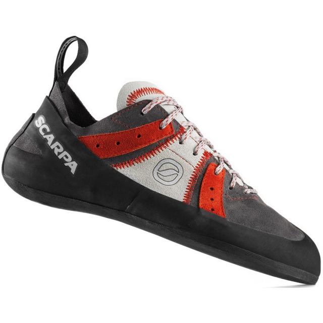 Scarpa - Helix Climbing Shoe Mens - Smoke/Parrot 49