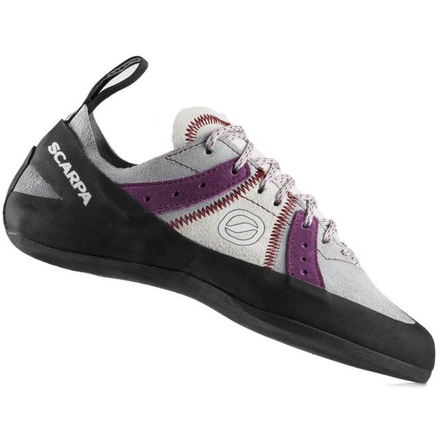 Scarpa - Helix Climbing Shoe Womens - Pewter/Plum 41.5