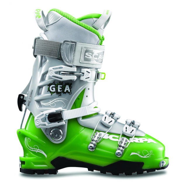 Scarpa - - Gea AT Wmns Boot W15 - 26.5 - Blue Limelight