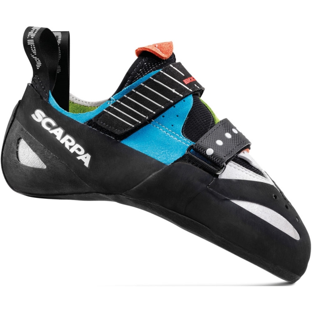 Scarpa - Boostic Climbing Shoe - Parrot/Spring/Turquoise 39.5