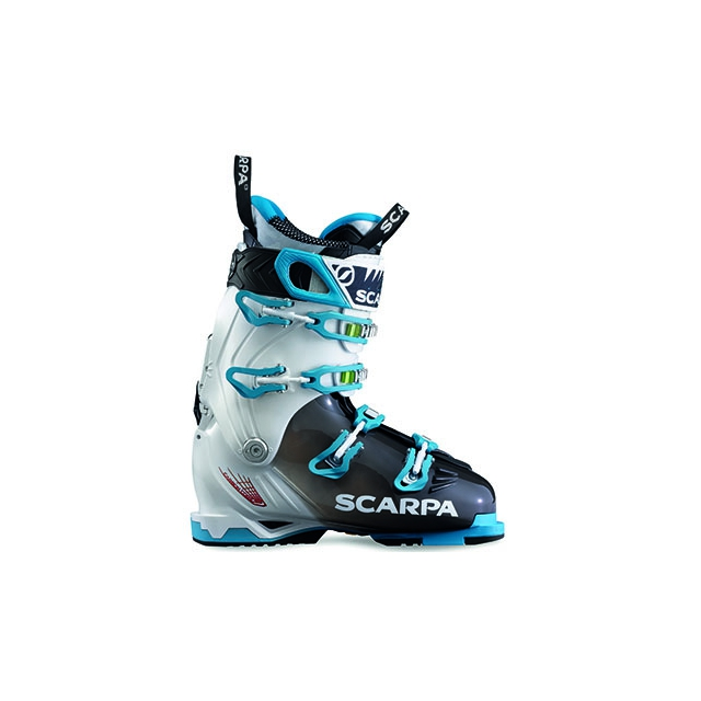 Scarpa - - Freedom Wmns AT Boot - 23 - White Turquoise
