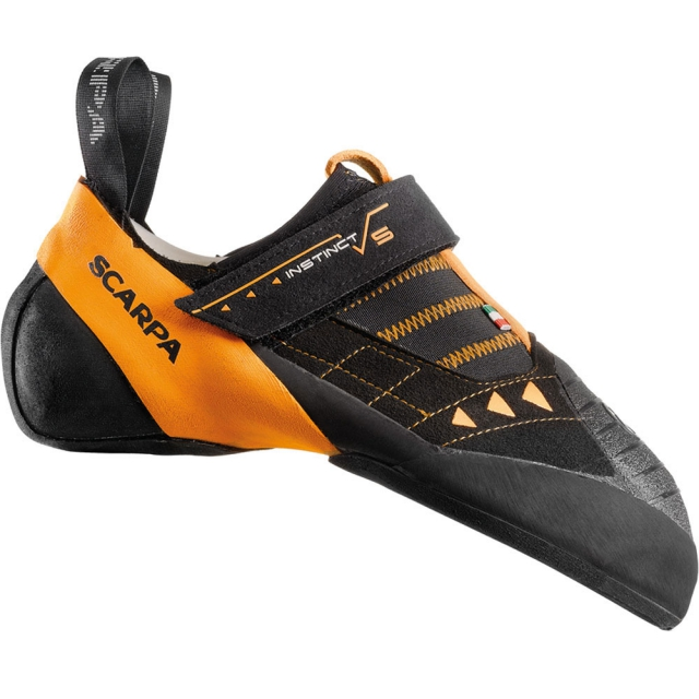 Scarpa - Instinct VS Climbing Shoe Mens - Black/Orange 43