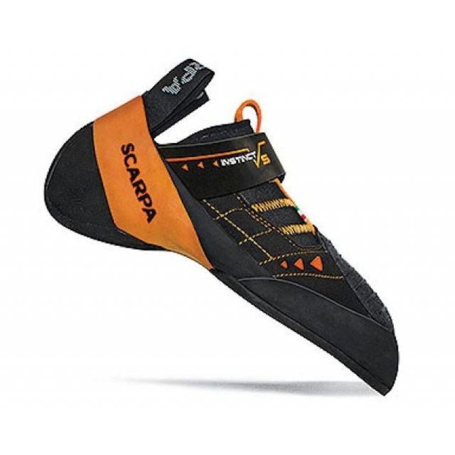 Scarpa - Instinct VS Climbing Shoes Mens (Black/Orange)