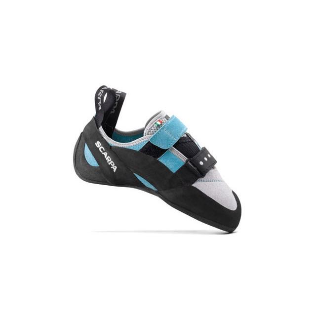 Scarpa - - Vapor V Womens Climbing Shoe - 35.5 - Turquoise