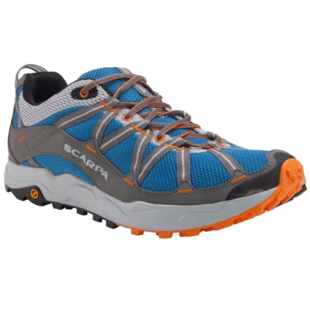 Scarpa - Ignite Trail Running Shoe Mens - Blue 45.5