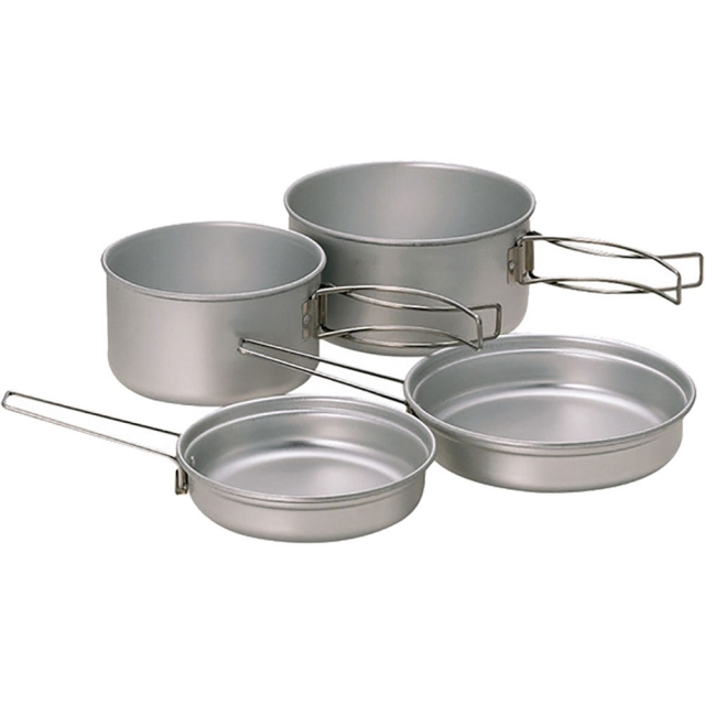 Snow Peak - Multi Compact Cookset Aluminum -