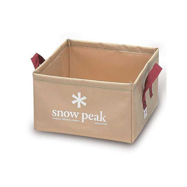Snow Peak - Square Collapsable Bucket