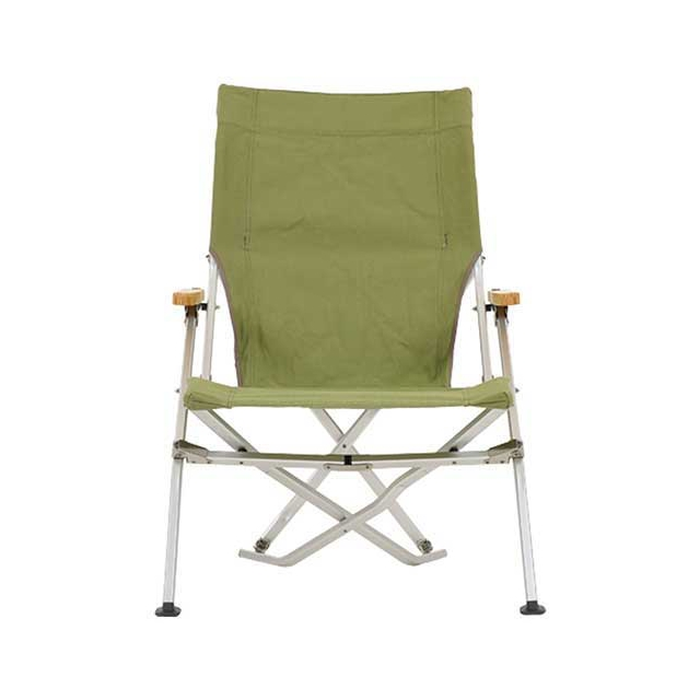 Snow Peak - Folding Beach Chair: Green