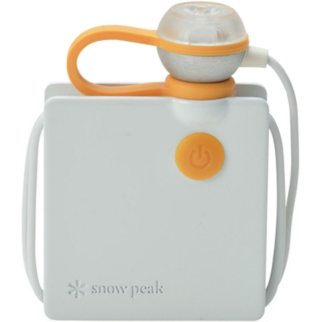 Snow Peak - Lapel Torch - White
