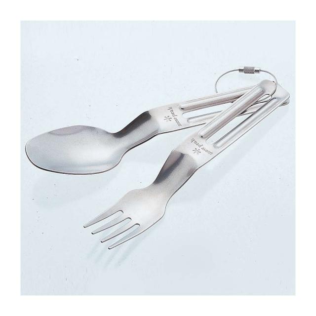 Snow Peak - Titanium Fork And Spoon Set