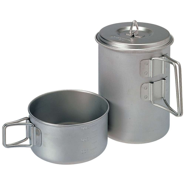Snow Peak - Titanium Mini Solo Cookset -