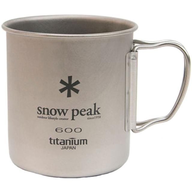 Snow Peak - Titanium Single 600 Cup -  600