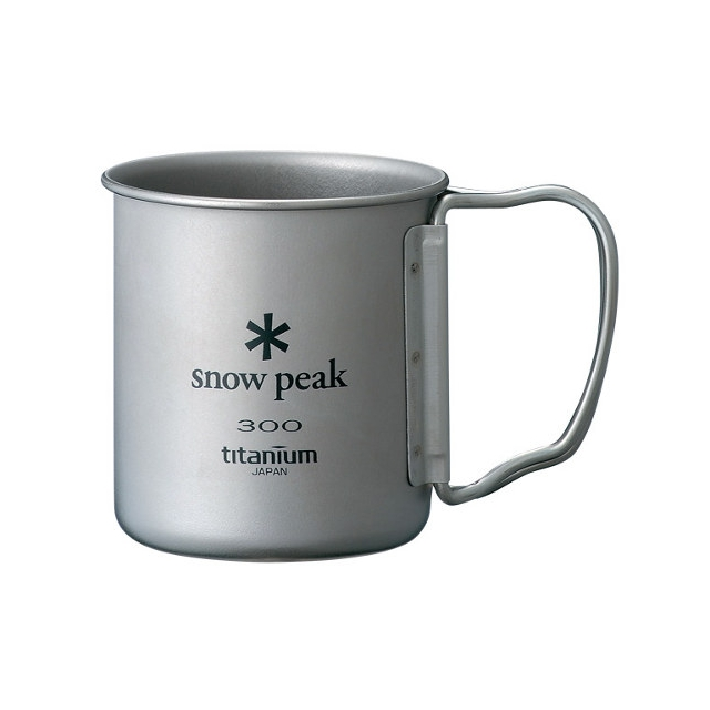 Snow Peak - 300 Single Walled Titanium Cup