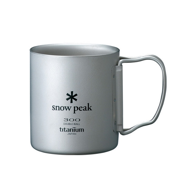 Snow Peak - Double Walled Cup 300 - Titanium
