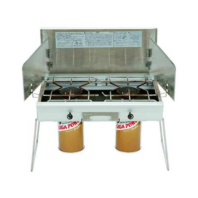 Snow Peak - GigaPower Two Burner Standard Stove