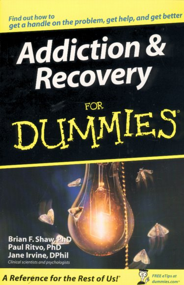 Addiction and Recovery for Dummies Cover Image