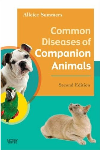 Common Diseases of Companion Animals Cover Image