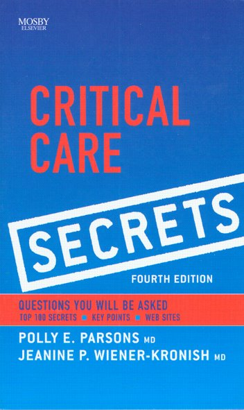 Critical Care Secrets Cover Image