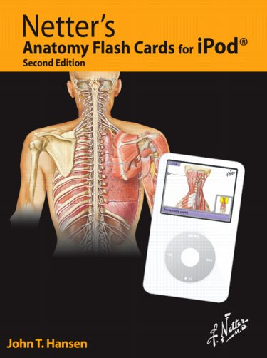 Majors Books Netters Anatomy Flash Cards For Video Ipod Windows