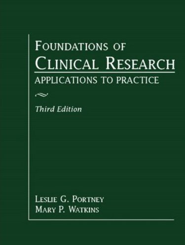 Foundations of Clinical Research: Applications to Practice Cover Image