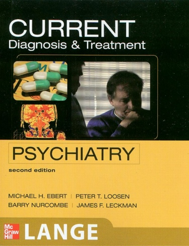 Current Diagnosis and Treatment in Psychiatry Cover Image